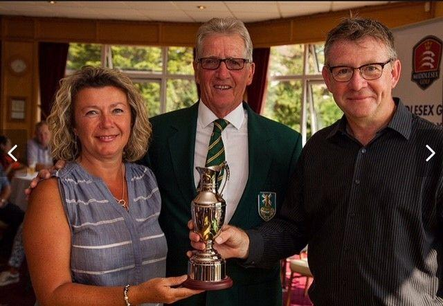 Mandy Miller and Bill Carey win inaugural Middlesex Mixed Open